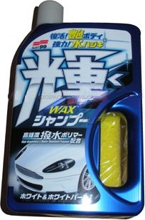 Шампунь SOFT99 04277 Wax in Shampoo High Shiny & Speed Type White & White Pearl